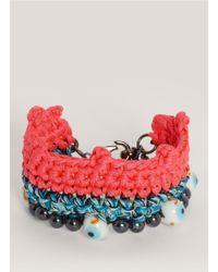 Venessa Arizaga - Multicolor 'tus Ojos' Bracelet - Lyst