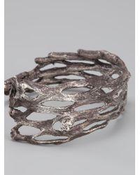 Alice Waese | Metallic Palm Cuff for Men | Lyst