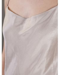 The Row | Brown Balloon-Sleeve Zeenu Blouse | Lyst