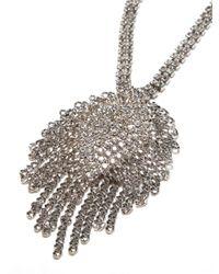 BaubleBar - Metallic 'spade' Y-chain Necklace - Lyst