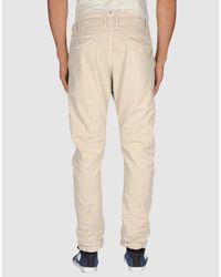 DIESEL | Beige Denim Trousers for Men | Lyst