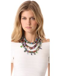 Erickson Beamon - Multicolor Weve Got The Power Tier Necklace - Lyst