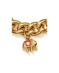 Juicy Couture - Metallic Elephant Bracelet - Lyst