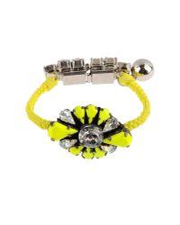 Shourouk - Yellow Bracelet - Lyst