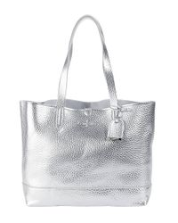 Cole Haan - Haven Metallic Leather Small Tote Bag - Lyst