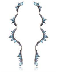 Fernando Jorge | Blue Electric Lightning Earrings | Lyst