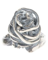 Alice Waese | Gray Cage Ring for Men | Lyst