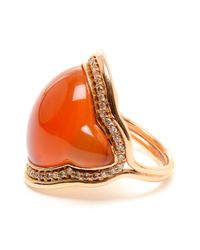 Fernando Jorge - Orange Chalcedony and 18k Rose Gold Ring - Lyst