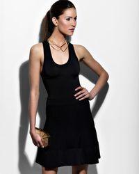 Alexis Bittar - Metallic Gold Open Collar Necklace - Lyst