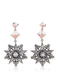 Charlotte Bjorlin Delia - Metallic Star Clover Earrings - Lyst