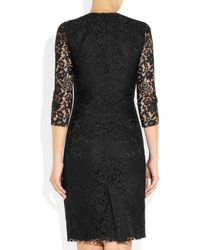 JOSEPH - Black Corine Lace Dress - Lyst