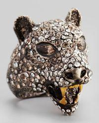 Alexis Bittar - Brown Cordova Jaguar Ring - Lyst