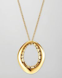 John Hardy | Metallic Kali 18k Gold Drop Pendant Necklace | Lyst