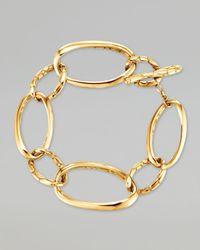 John Hardy - Metallic Kali 18k Gold Large Link Bracelet for Men - Lyst