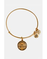 ALEX AND ANI | Metallic 'claddagh' Expandable Wire Bangle | Lyst