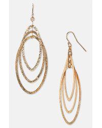 Argento Vivo | Metallic Drop Earrings | Lyst