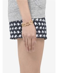 Eddie Borgo - Metallic Hexagon-shape Bracelet - Lyst