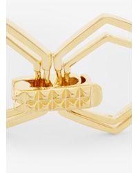 Eddie Borgo - Metallic Hexagon-shape Bracelet - Lyst