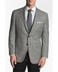 Hickey Freeman | Black Houndstooth Sportcoat for Men | Lyst