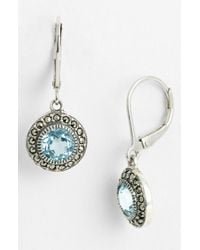 Judith Jack | Metallic Drop Earrings | Lyst