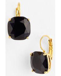 Kate Spade | Black Drop Earrings | Lyst