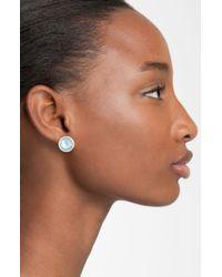 Ippolita   Blue 'rock Candy - Stella' Diamond & Stone Stud Earrings   Lyst