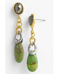 Alexis Bittar | Green Elements Cordova Link Drop Earrings | Lyst