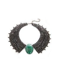 DANNIJO | Black Misch Ii Necklace | Lyst