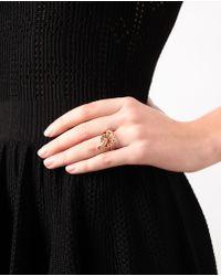 Ileana Makri | Metallic 'berus 18k Rose Gold And Diamond Snake Ring | Lyst