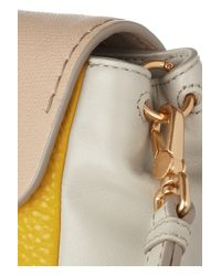 Marc By Marc Jacobs   Yellow Sheltered Island Colorblock Leather Shoulder Bag   Lyst