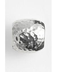 Simon Sebbag | Metallic Hammered Bead Pendant | Lyst