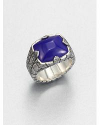 Stephen Webster | Purple Highway Man Lapis Ring for Men | Lyst