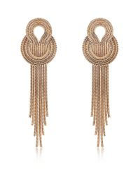 Lara Bohinc | Pink Saturn Earrings | Lyst