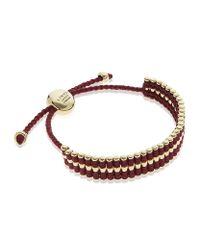 Links of London | Purple Gold Friendship Bracelet | Lyst