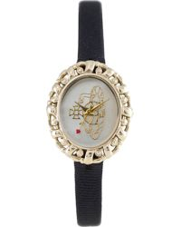 Vivienne Westwood - Metallic Vv005cmbk Rococo Yellow Gold-toned And Mother-of-pearl Watch, Women's, Cream - Lyst