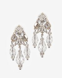 Erickson Beamon | Metallic Holly Golightly Crystal Drop Earrings | Lyst