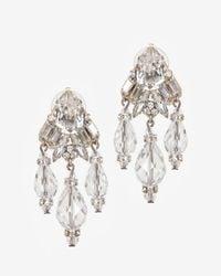 Erickson Beamon - Metallic Holly Golightly Crystal Drop Earrings - Lyst