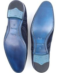 Paul Smith - Blue Miller Suede Brogues for Men - Lyst