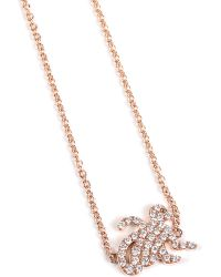 Qeelin - Metallic Petite 18ct Rosegold Monkey Charm Bracelet Rose Gold - Lyst