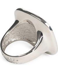 Vivienne Westwood | Black Stone Orb Vegas Ring for Men | Lyst