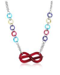 Antica Murrina - Red Tattoo Murano Glass Necklace - Lyst