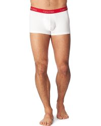 Calvin Klein - Red Pro–stretch Basic Trunks for Men - Lyst