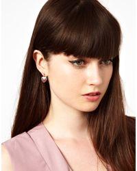 Cath Kidston - Red Union Jack Drop Earrings - Lyst