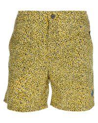 KENZO | Yellow Jungle-Print Swim Shorts for Men | Lyst