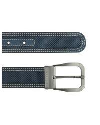 Moreschi | Black Men's Beige Perforated Leather Belt for Men | Lyst