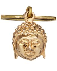 Sam Ubhi - Metallic Buddha Head Charm Ring - Lyst