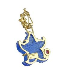Tagliamonte - Marina Collection - Blue Starfish Ruby & 18k Gold Pendant - Lyst
