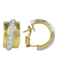 Torrini | Nancy - 18k Yellow Gold And Diamond Earrings | Lyst