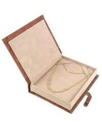 Torrini - Rondelle Moving Mini - 18k Yellow Gold And Diamond Necklace - Lyst