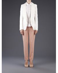 Vanessa Bruno - White Sable Embroidery Jacket - Lyst
